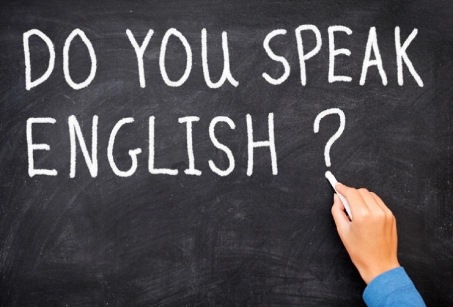 Журналистка провела урок английского в школе